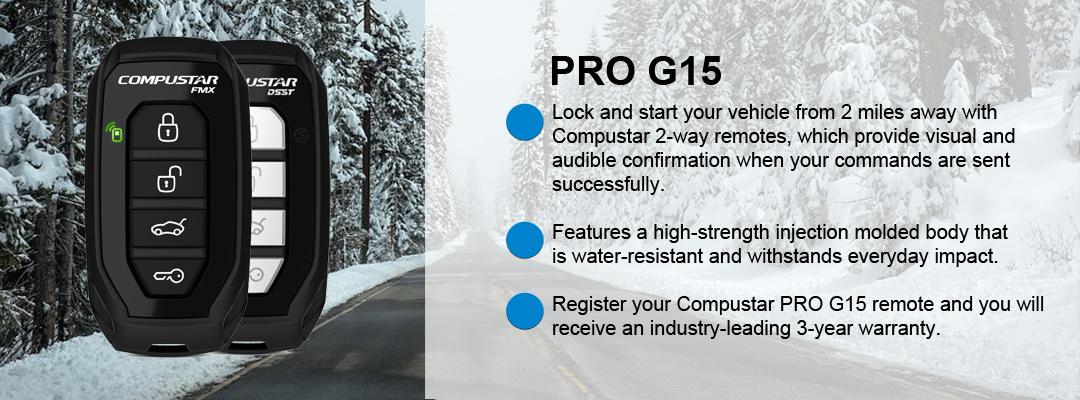 Compustar Pro G15