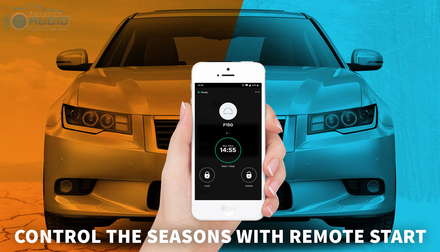 Remote Start - Awesome Audio - Dronemobile